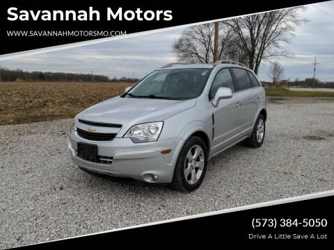 2014 Chevrolet Captiva Sport for sale at Savannah Motors in Elsberry MO
