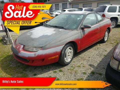 1997 Saturn S-Series for sale at Billy's Auto Sales in Winston Salem NC