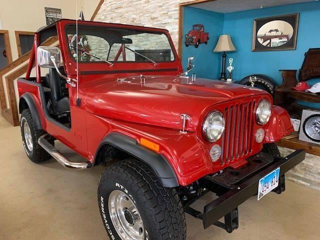 1976 Jeep CJ-7 for sale at Gary Miller's Classic Auto in El Paso IL