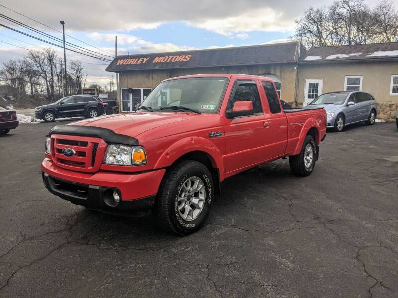 2011 Ford Ranger for sale at Worley Motors in Enola PA