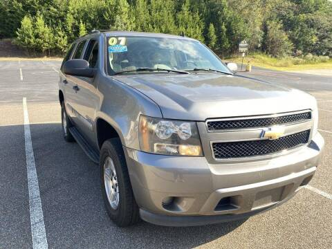 2007 Chevrolet Tahoe for sale at CU Carfinders in Norcross GA