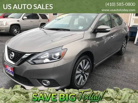 2016 Nissan Sentra for sale at US AUTO SALES in Baltimore MD