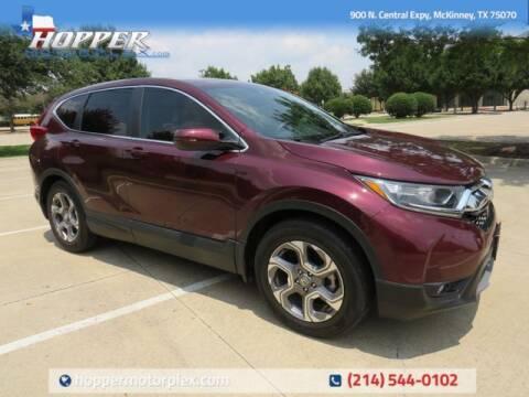 2018 Honda CR-V for sale at HOPPER MOTORPLEX in Mckinney TX
