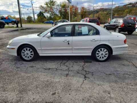 2004 Hyundai Sonata for sale at Knoxville Wholesale in Knoxville TN