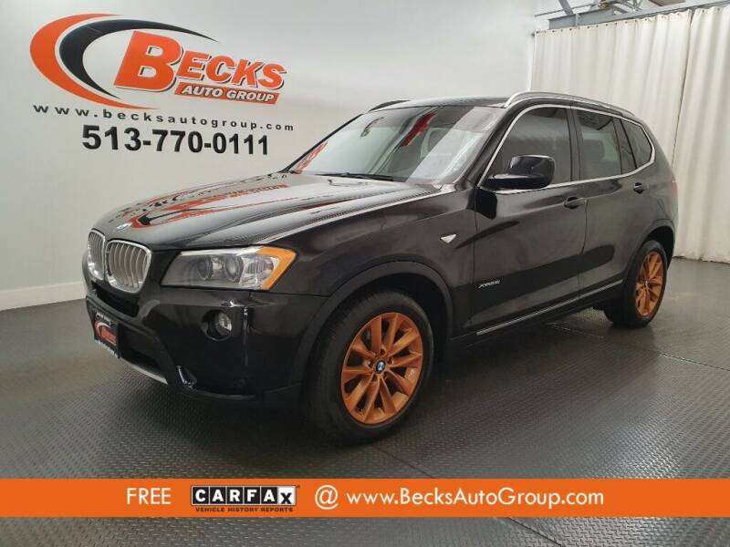 2011 BMW X3 for sale at Becks Auto Group in Mason OH
