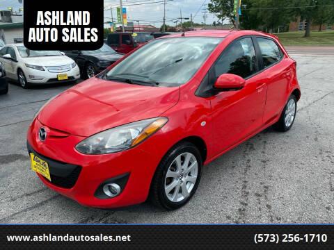 2013 Mazda MAZDA2 for sale at ASHLAND AUTO SALES in Columbia MO