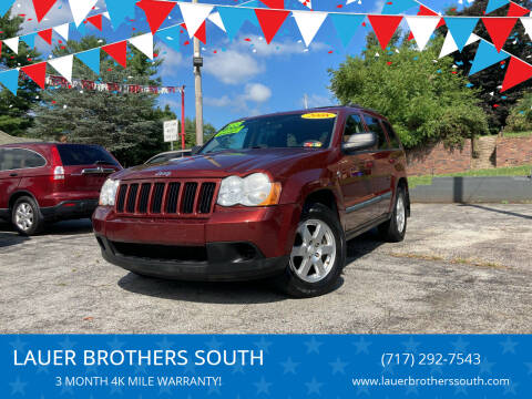 2008 Jeep Grand Cherokee for sale at LAUER BROTHERS SOUTH in York PA