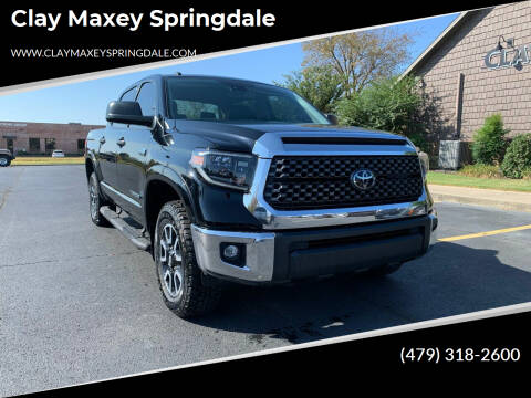 2019 Toyota Tundra for sale at Clay Maxey Springdale in Springdale AR