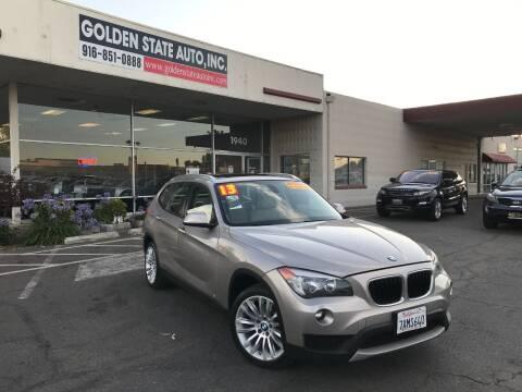 2013 BMW X1 for sale at Golden State Auto Inc. in Rancho Cordova CA