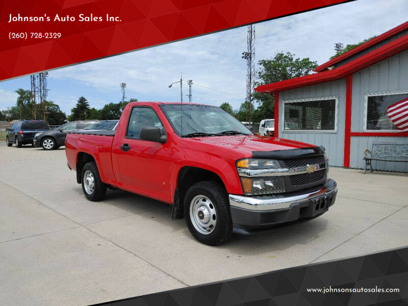 2006 Chevrolet Colorado for sale at Johnson's Auto Sales Inc. in Decatur IN
