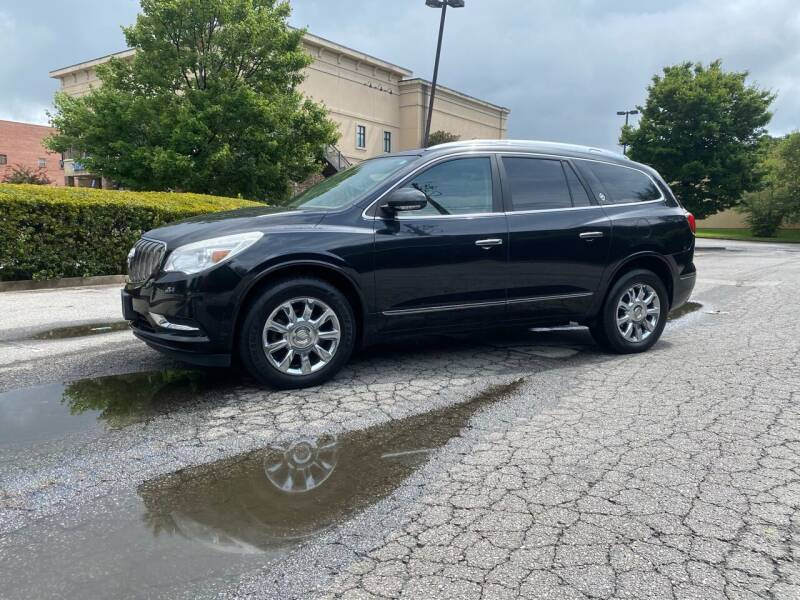 2013 Buick Enclave for sale at GTO United Auto Sales LLC in Lawrenceville GA