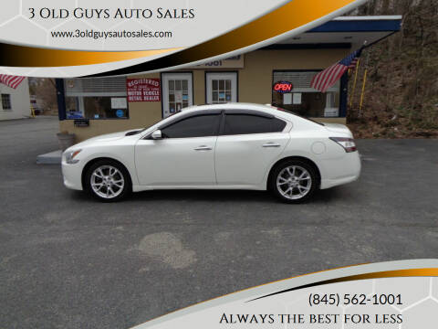 2013 Nissan Maxima for sale at 3 Old Guys Auto Sales in Newburgh NY