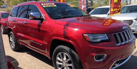 2014 Jeep Grand Cherokee for sale at Duke City Auto LLC in Gallup NM