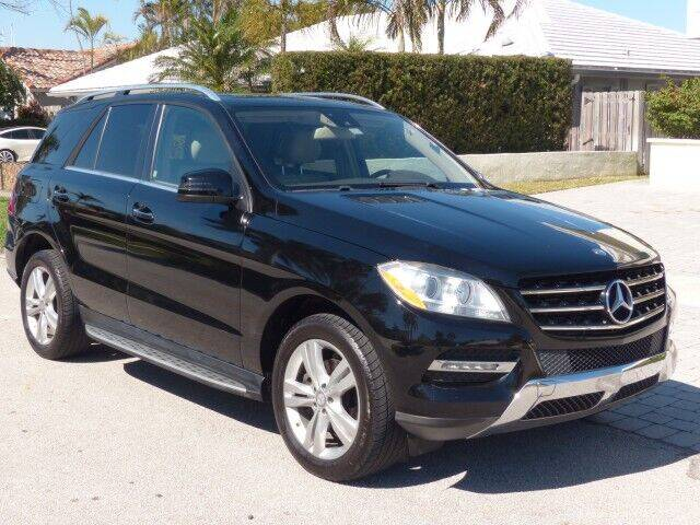 2013 Mercedes-Benz M-Class for sale at Lifetime Automotive Group in Pompano Beach FL
