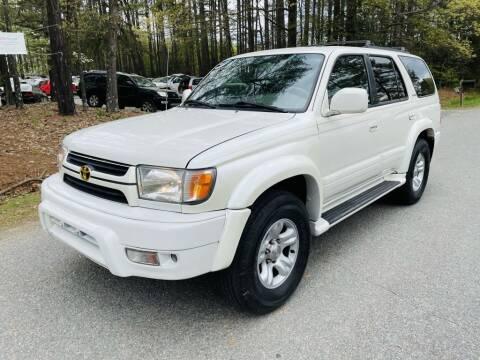 2002 Toyota 4Runner for sale at H&C Auto in Oilville VA