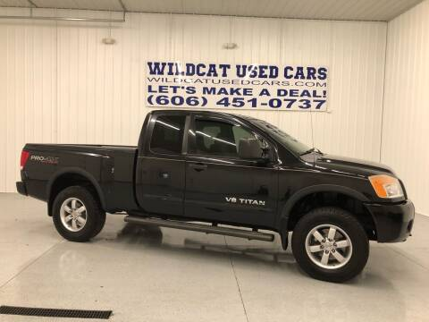 2008 Nissan Titan for sale at Wildcat Used Cars in Somerset KY