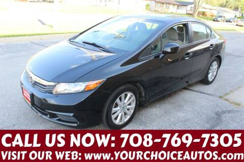 2012 Honda Civic for sale at Your Choice Autos in Posen IL