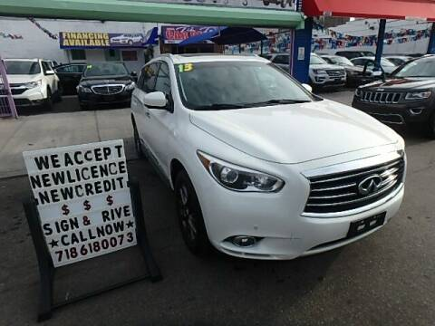 2013 Infiniti JX35 for sale at Cedano Auto Mall Inc in Bronx NY