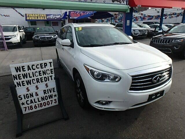 2013 Infiniti JX35 for sale at 4530 Tip Top Car Dealer Inc in Bronx NY