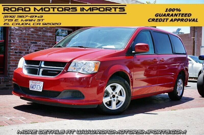 2013 Dodge Grand Caravan for sale at Road Motors Imports in El Cajon CA