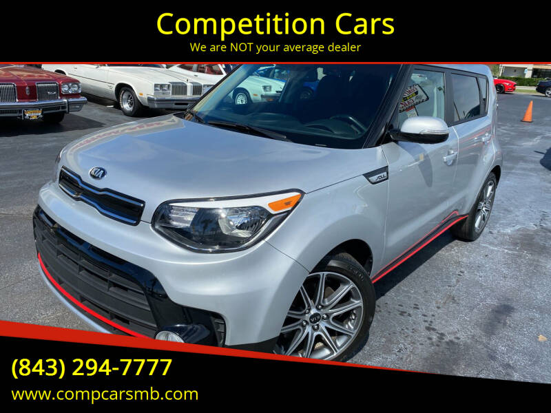2019 Kia Soul for sale at Competition Cars in Myrtle Beach SC