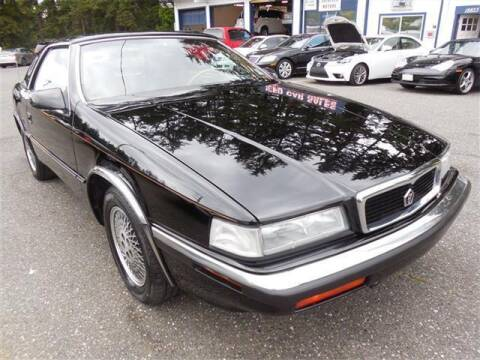 1991 Chrysler TC for sale at Autoplex Motors in Lynnwood WA
