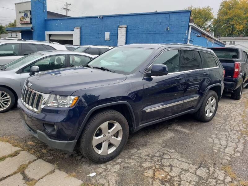 2013 Jeep Grand Cherokee for sale at M & C Auto Sales in Toledo OH