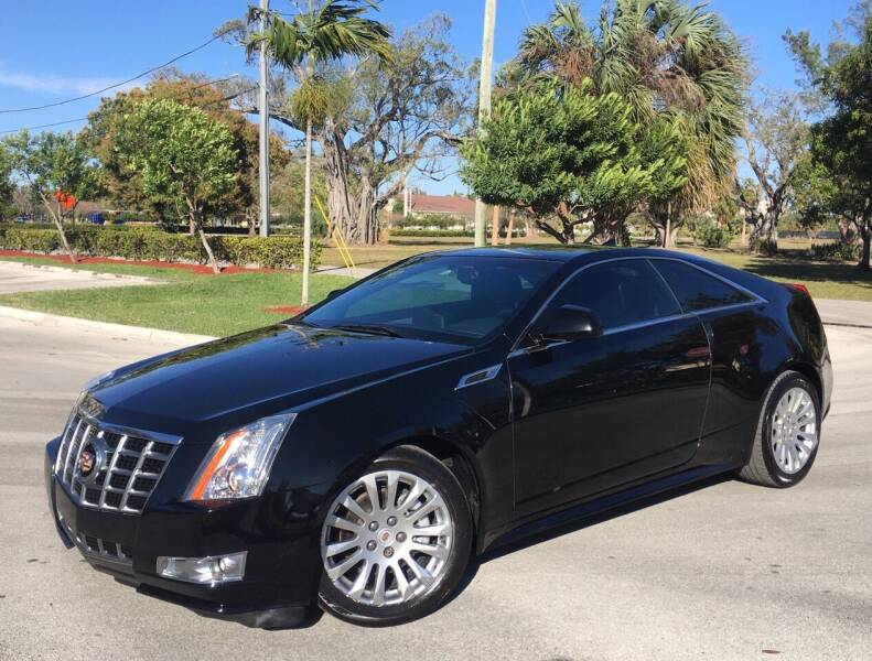 2013 Cadillac CTS for sale at FIRST FLORIDA MOTOR SPORTS in Pompano Beach FL