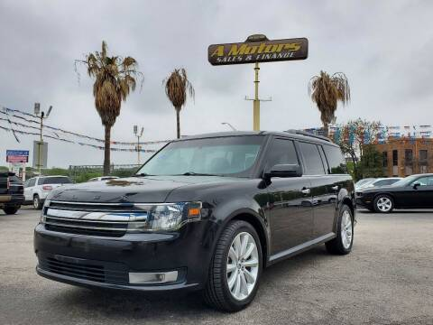 2015 Ford Flex for sale at A MOTORS SALES AND FINANCE - 5630 San Pedro Ave in San Antonio TX