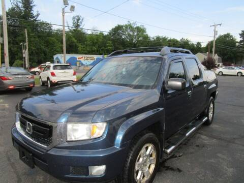 2009 Honda Ridgeline for sale at Route 12 Auto Sales in Leominster MA