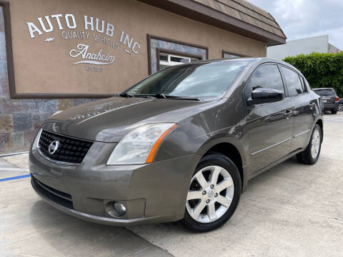 2008 Nissan Sentra for sale at Auto Hub, Inc. in Anaheim CA