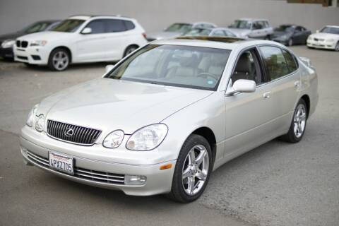 2001 Lexus GS 430 for sale at Sports Plus Motor Group LLC in Sunnyvale CA