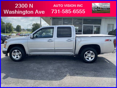 2011 Chevrolet Colorado for sale at Auto Vision Inc. in Brownsville TN