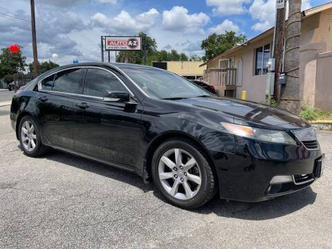 2013 Acura TL for sale at Auto A to Z / General McMullen in San Antonio TX