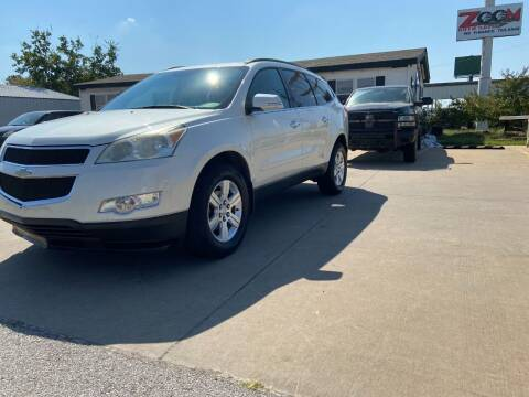 2012 Chevrolet Traverse for sale at Zoom Auto Sales in Oklahoma City OK