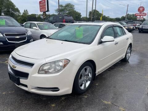 2011 Chevrolet Malibu for sale at RJ AUTO SALES in Detroit MI