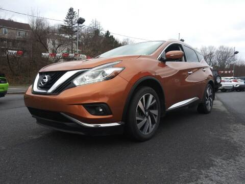 2015 Nissan Murano for sale at Mulligan's Auto Exchange LLC in Paxinos PA