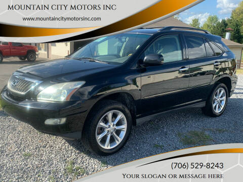 2008 Lexus RX 350 for sale at MOUNTAIN CITY MOTORS INC in Dalton GA