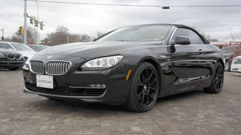 2012 BMW 6 Series for sale at Cars-KC LLC in Overland Park KS