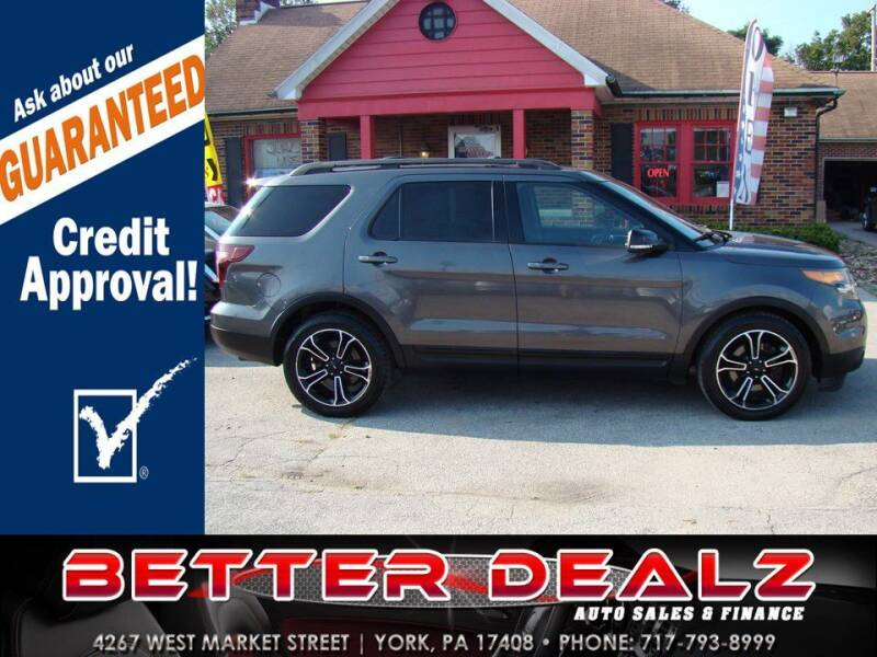 2015 Ford Explorer for sale at Better Dealz Auto Sales & Finance in York PA