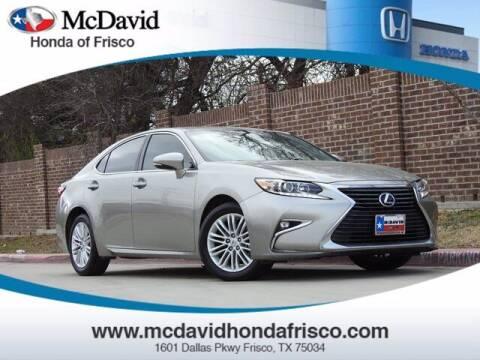 2016 Lexus ES 350 for sale at DAVID McDAVID HONDA OF IRVING in Irving TX