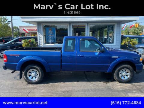 2011 Ford Ranger for sale at Marv`s Car Lot Inc. in Zeeland MI