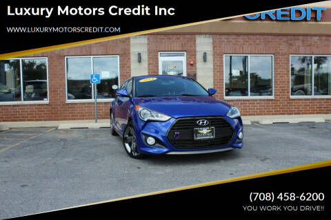 2014 Hyundai Veloster for sale at Luxury Motors Credit Inc in Bridgeview IL