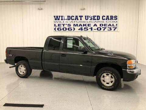 2004 GMC Sierra 1500 for sale at Wildcat Used Cars in Somerset KY