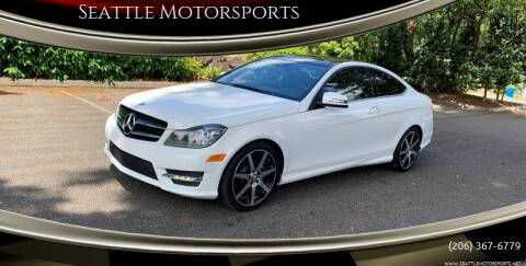 2015 Mercedes-Benz C-Class for sale at Seattle Motorsports in Shoreline WA