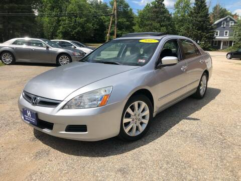 2007 Honda Accord for sale at Hornes Auto Sales LLC in Epping NH