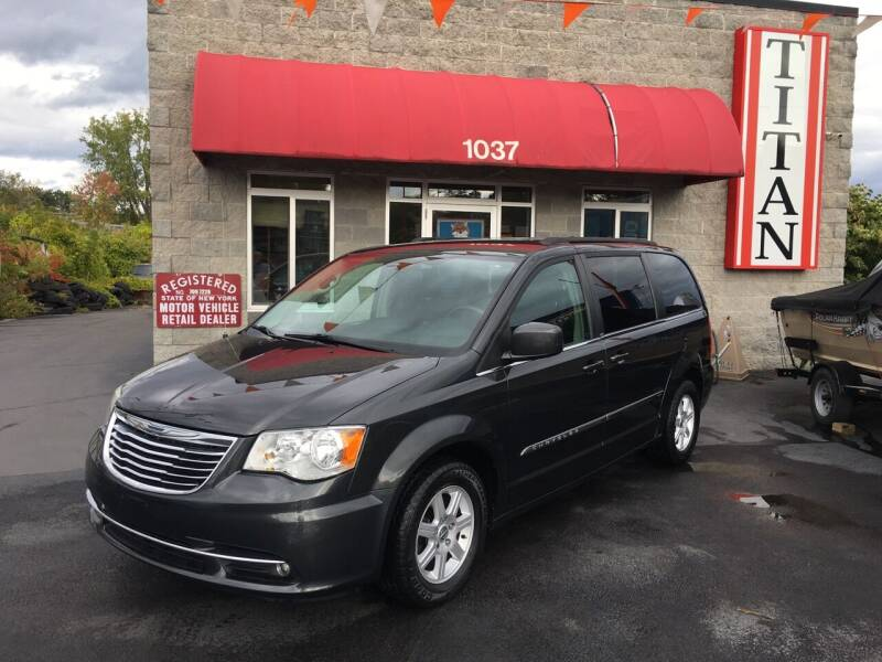 2011 Chrysler Town and Country for sale at Titan Auto Sales LLC in Albany NY