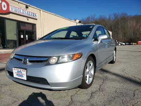 2008 Honda Civic for sale at Auto Wholesalers Of Hooksett in Hooksett NH