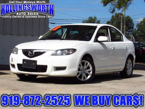 2008 Mazda MAZDA3 for sale at Hollingsworth Auto Sales in Raleigh NC