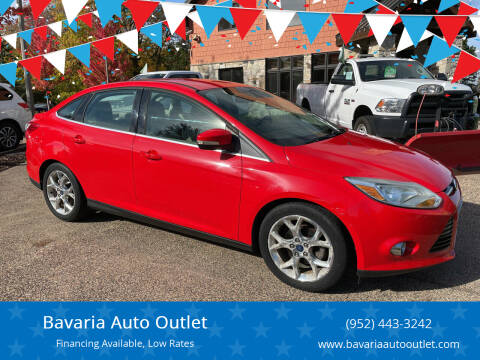 2012 Ford Focus for sale at Bavaria Auto Outlet in Victoria MN
